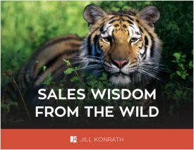 Ebook Cover: Sales Wisdom from the Wild