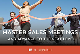 Master Sales Meetings eBook and the Worksheet