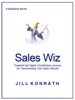 Cover - Sales Wiz Novel