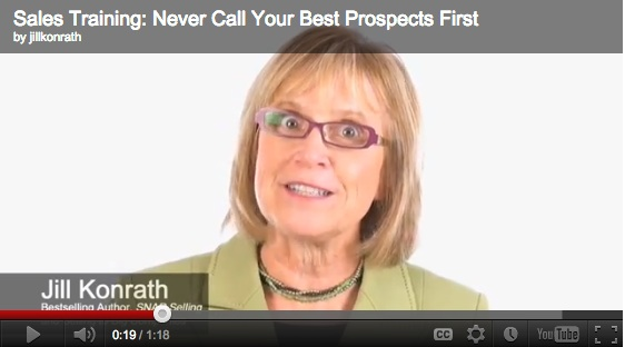[Video] Never Call Your Best Prospects First
