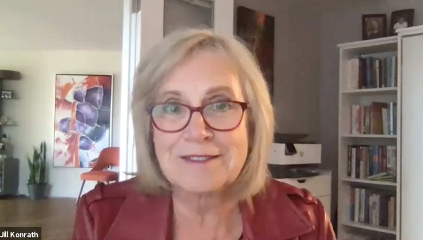 Jill Konrath in The Mental Game of Sales Interview