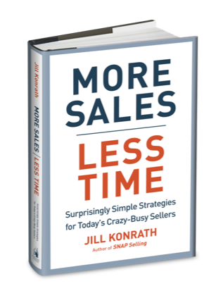 More Sales Less Time Book Cover